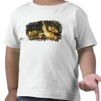 Stillleben mit Spiel und Frucht T Shirt