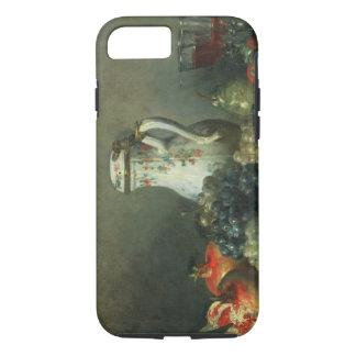 Stillleben mit Trauben und Granatäpfeln, 1763 (Öl iPhone 8/7 Hülle