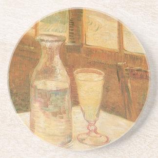 Stillleben mit Wermut durch Vincent van Gogh Getränkeuntersetzer