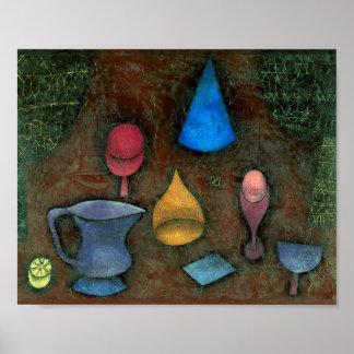 Stillleben: Paul Klee 1927 Poster