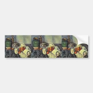 Stillleben Pauls Cezanne- mit Äpfeln Autoaufkleber