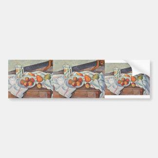 Stillleben Pauls Cezanne- mit Zucker Auto Sticker