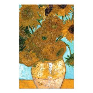 Stillleben: Sonnenblumen - Vincent van Gogh Briefpapier