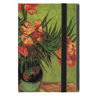 Stillleben-Vase mit Oleandern und Büchern, Van Hülle Fürs iPad Mini