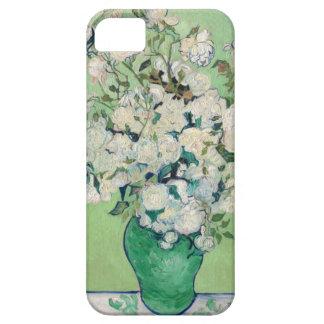Stillleben: Vase mit Rosen - Vincent van Gogh iPhone 5 Hülle