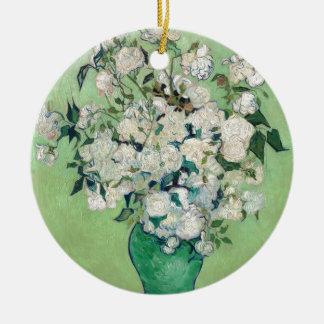 Stillleben: Vase mit Rosen - Vincent van Gogh Keramik Ornament