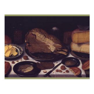 Stilllebenfrühstück Schooten Postkarte