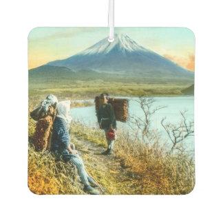 Stillstehen auf dem Straßenrand zum Fujisan Vintag Lufterfrischer