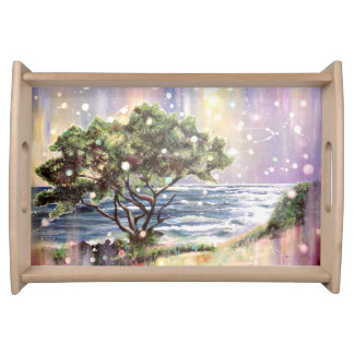 Stillstehender Baum, Kauai, Hawaii Serviertablett