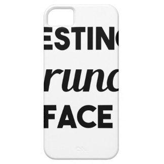 Stillstehendes Brunch-Gesicht Hülle Fürs iPhone 5