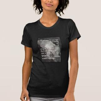 Stillstehendes Buddha-Foto, Wunder einer T-Shirt