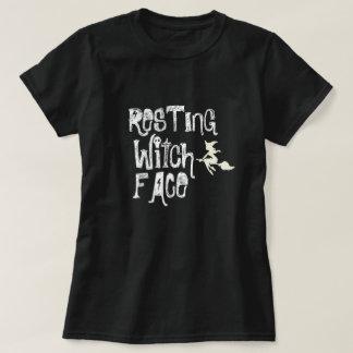 STILLSTEHENDES HEXE-GESICHT T-Shirt