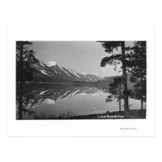 Stillwater See-Szene Postkarte
