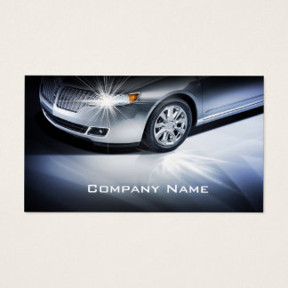 Stilvolle AutomobilVisitenkarte Visitenkarte