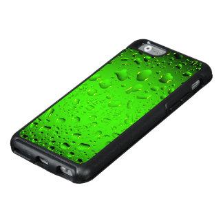 Stilvolle coole grüne Wassertropfen OtterBox iPhone 6/6s Hülle