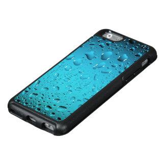 Stilvolle coole Tropfen des blauen Wassers OtterBox iPhone 6/6s Hülle
