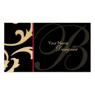 Stilvolle Designer-Visitenkarte Visitenkarten
