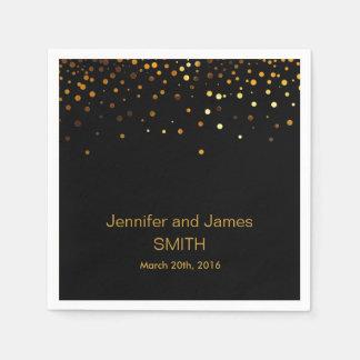 Stilvolle Hochzeits-Tabelle Papierserviette