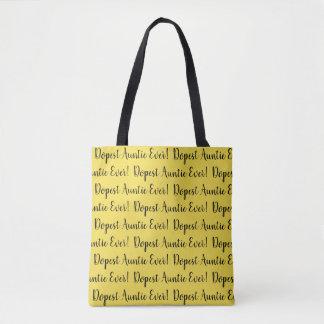Stilvolle Leinwand-Taschen-Tasche für Ihre Tasche