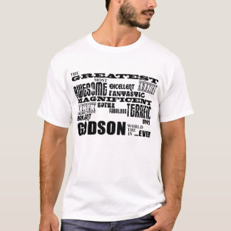 Stilvolle moderne u. Spaß-Patensöhne: Bestster T-Shirt