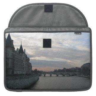 Stilvolle Rickshaw-Klappen-Hülse mit Sleeve Für MacBooks