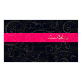 Stilvolle Schönheits-Salon-Visitenkarten
