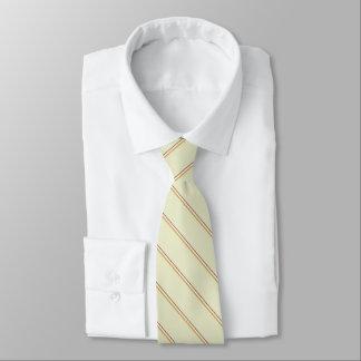 Stilvolle Streifen in den natürlichen Farben auf Individuelle Krawatte