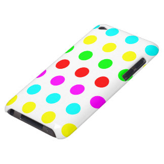 Stilvolle u. bunte Polka-Punktipod-Touch 4G Barely There iPod Case
