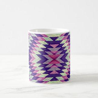 Stilvoller aztekischer Entwurf Kaffeetasse