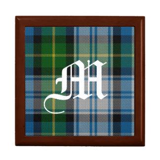 Stilvoller Clan MacNeil Monogramm-Andenken-Kasten Erinnerungskiste