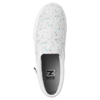 Stilvoller Marmor Slip-On Sneaker
