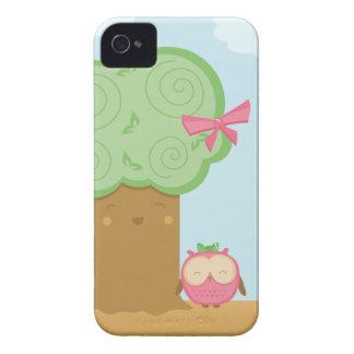 Stilvoller niedlicher kawaii Baum und iPhone 4 Hüllen