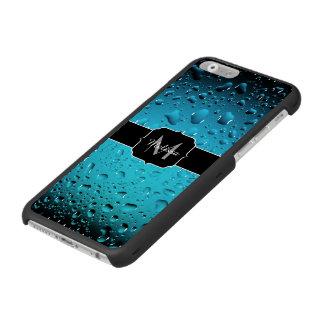 Stilvolles cooles blaues Wasser lässt Monogramm Incipio Watson™ iPhone 6 Geldbörsen Hülle
