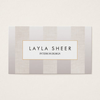 Stilvolles Designer-Imitat Schimmer und Visitenkarte
