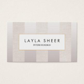 Stilvolles Designer-Imitat Schimmer und Visitenkarten