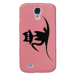 stilvolles Fallrosa Katzensamsung s4 Galaxy S4 Hülle