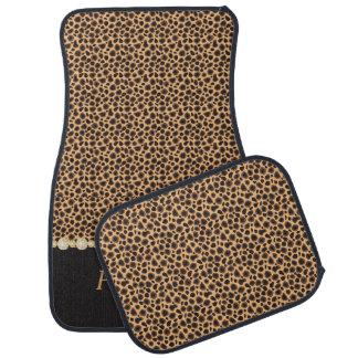 Stilvolles Gepard-Diamant-Muster | personifizieren Automatte