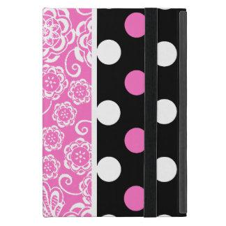 Stilvolles Girly Muster iPad Minifall mit Stand iPad Mini Hülle