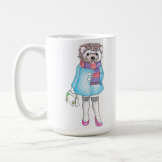Stilvolles Hedgie Kaffeetasse