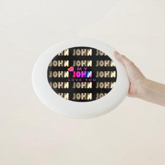 Stilvolles, intelligentes Geschenk für John Wham-O Frisbee