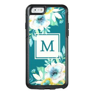 Stilvolles Monogramm BlumenOtterBox iPhone 6/6s OtterBox iPhone 6/6s Hülle