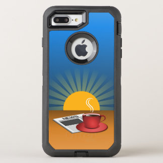 Stilvolles OtterBox Defender iPhone 8 Plus/7 Plus Hülle