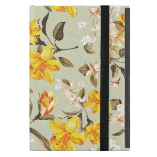 Stilvolles schönes helles Blumenmuster iPad Mini Hülle
