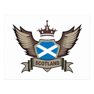 Stilvolles Schottland Postkarten