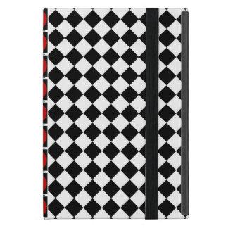 Stilvolles Schwarz-weißes halbes Etui Fürs iPad Mini