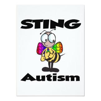 STING-Autismus 16,5 X 22,2 Cm Einladungskarte