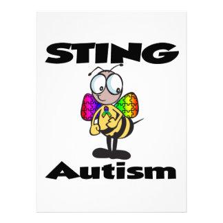 STING-Autismus Individuelle Ankündigskarten