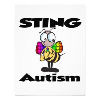 STING-Autismus Personalisierte Einladungskarte