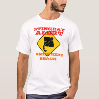 Stingray-wachsamer T - Shirt