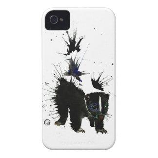 Stinktier-Wasserfarbemalerei iPhone 4 Case-Mate Hülle